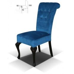 Krzesło tapicerowane Ludwik K Guziki B56G