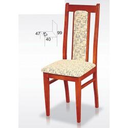 Klasyczne krzesła do salonu BST25N