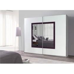 Luxury 32 Pojemna szafa z lustrem