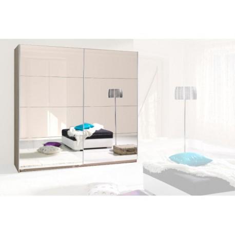 Szafa do sypialni z dużym lustrem TORNADO I
