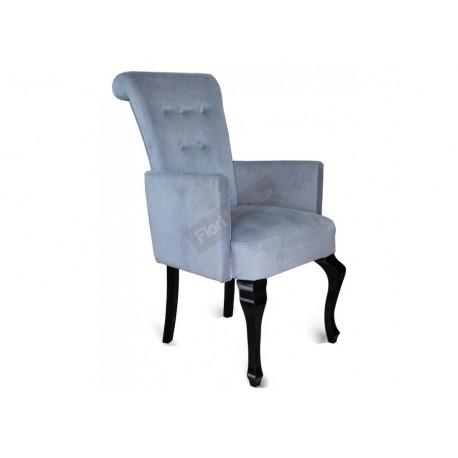 Tapicerowany fotel z podłokietnikiem STB56-P
