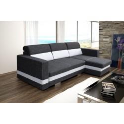 Rini sofa narożna z funkcją spania