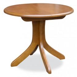 stół okrągły, rozkładany RMS10 na jednej nodze