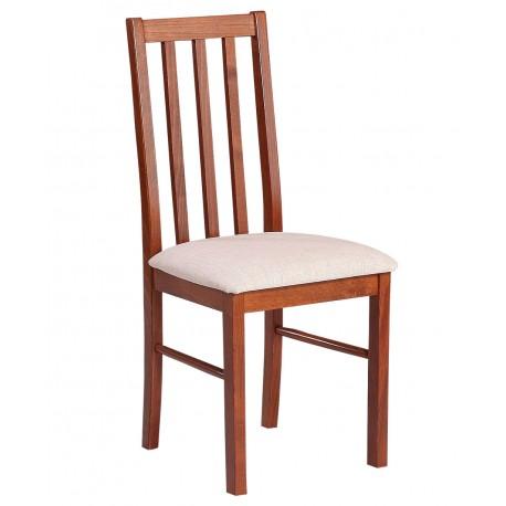 Tanie krzesło z drewnianym oparciem do kuchni Pigus X