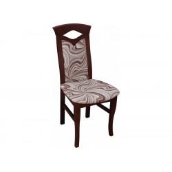 RMK53 Klasyczne krzesło z subtelnym wycięciem