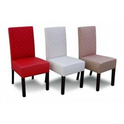 RMK44P Pikowane krzesło tapicerowane