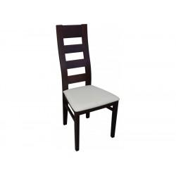 RMK47 Krzesło z drewnianym profilowanym oparciem