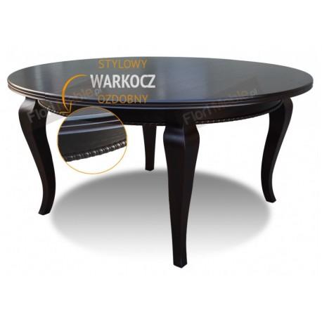 RMS27 Okrągłe rozkładane stoły rzeźbione Ludwik II
