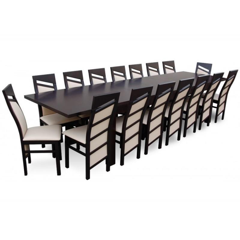 Rmz15 16os Rewelacyjny Komplet Mebli Stółkrzesła Dla 16 Osób