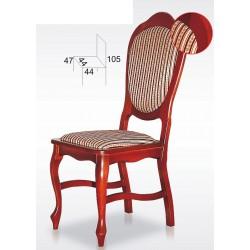 Stylowe krzesła z nogami Ludwik BST14