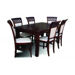 elegancki zestaw do jadalni stół i krzesła RMZ101