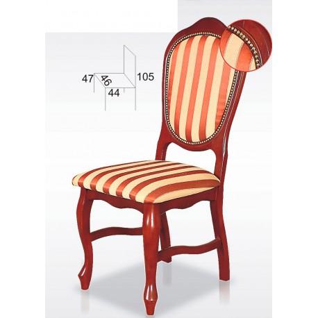 Ekskluzywne krzesło z nogami Ludwik BST14N