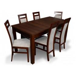 RMZ-PROMO1 Promocyjny komplet stół laminowany i krzesła RMK75 dla 6 osób