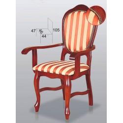 Krzesła z podłokietnikami BST15/N