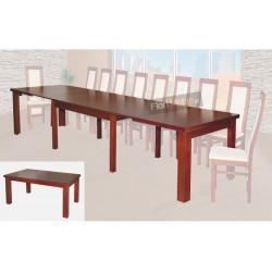 SSTH22 Jadalniany stół rozkładany na 4 wkładki na systemie 8 nóg Hades XL