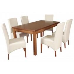 ZST1 Nowoczesny zestaw jadalniany stół SSTH13 i krzesło BST39