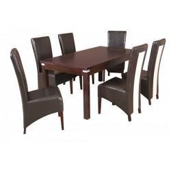 ZST2 Zestaw glamour stoły i krzesła jadalniane