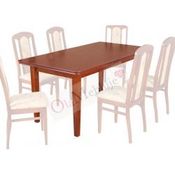 SSTH5 Prostokątne duże stoły jadalniane Artus