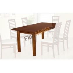 SSTH12 Kuchenne stoły Kronos z prostym fornirowanym blatem