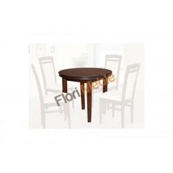 SSTH19 Tani okrągły stół Artus do jadalni dla 4 osób