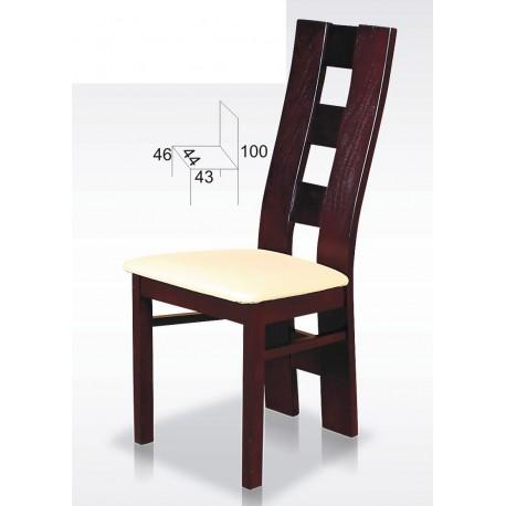 Krzesło z oparciem w kratę BST35