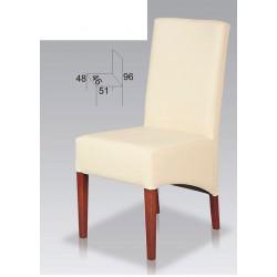Nowoczesne, tapicerowane krzesła do salonu BST39