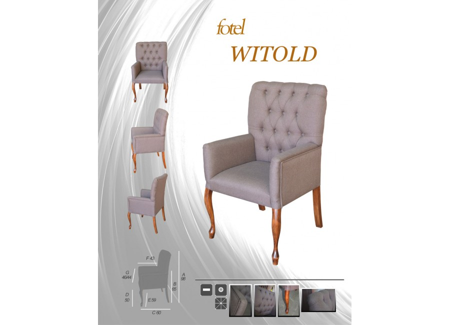 Fotel Witold