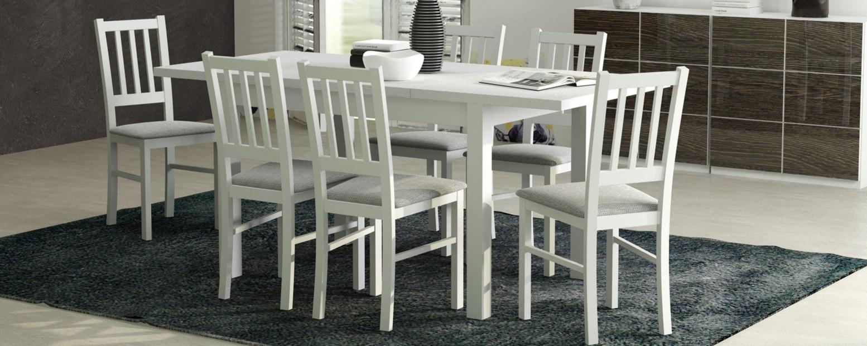 Zestaw tani stół + krzesła